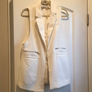 Bishop & Young oversized vest with pocket detail